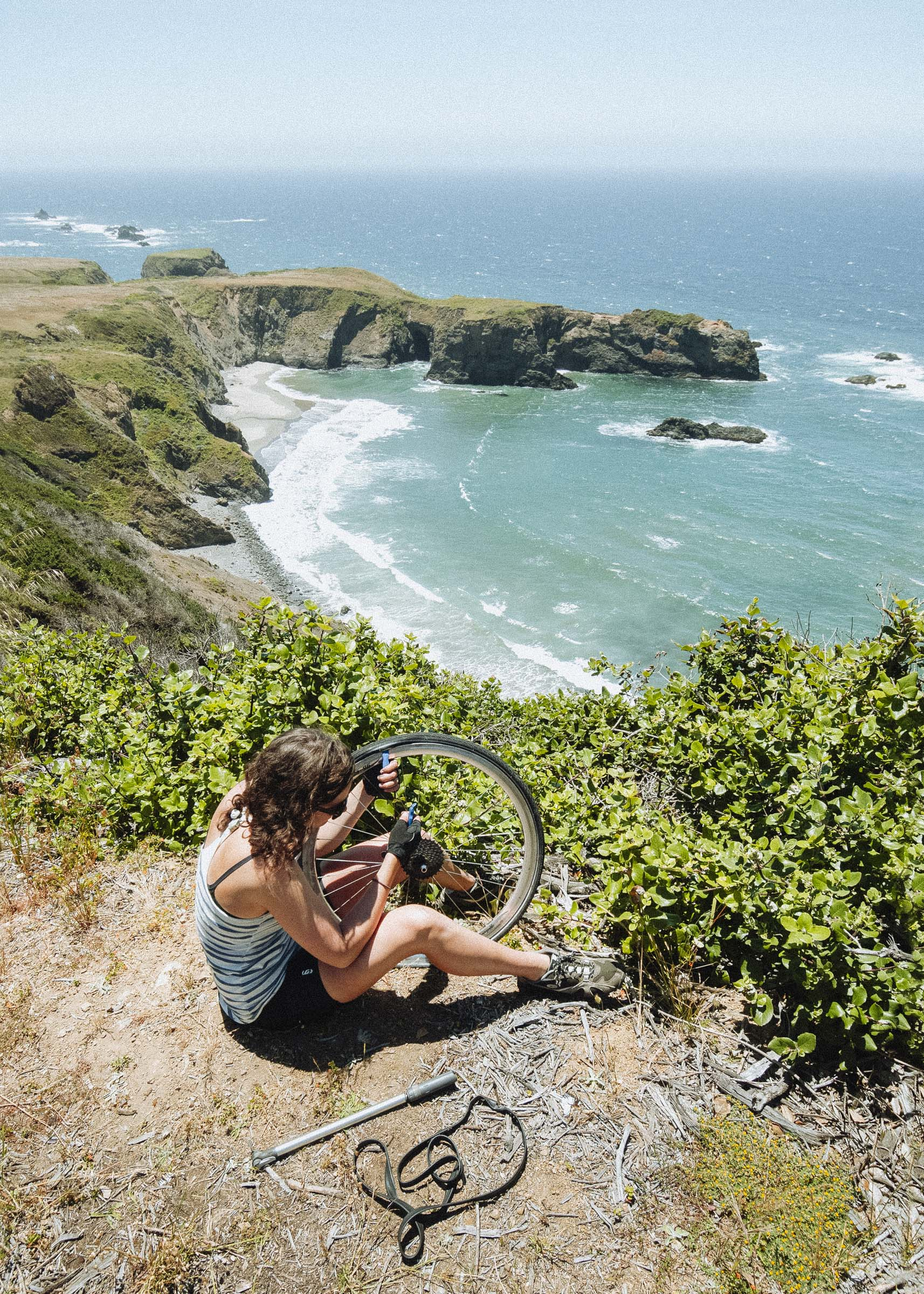 Bicycling Down the Coast